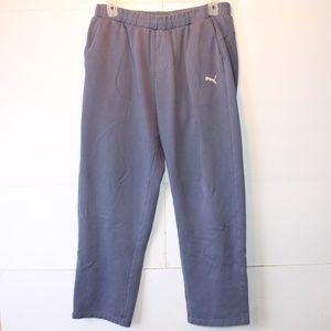 Puma Men's XL Blue Sweatpants